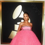Rihanna best dressed Red Carpet Grammy