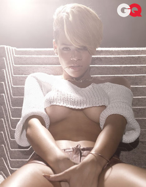 Rihanna GQ January 2010