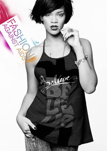 Rihanna H&M Fashion Against Aids