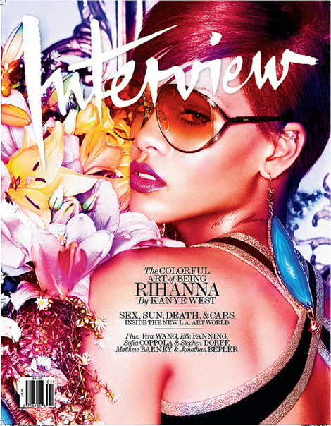 Rihanna Covers Interview December 2010