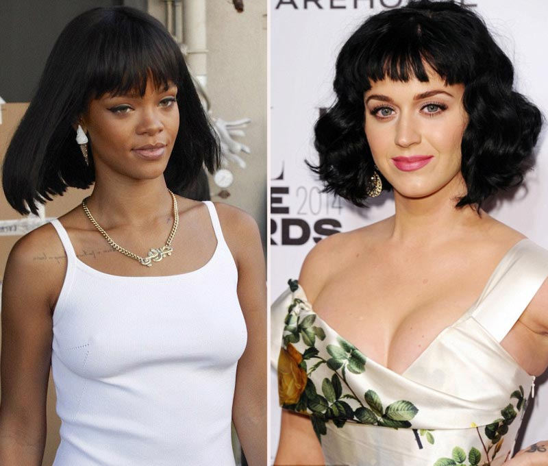 Rihanna Katy Perry bob haircut the new hair trend 2014