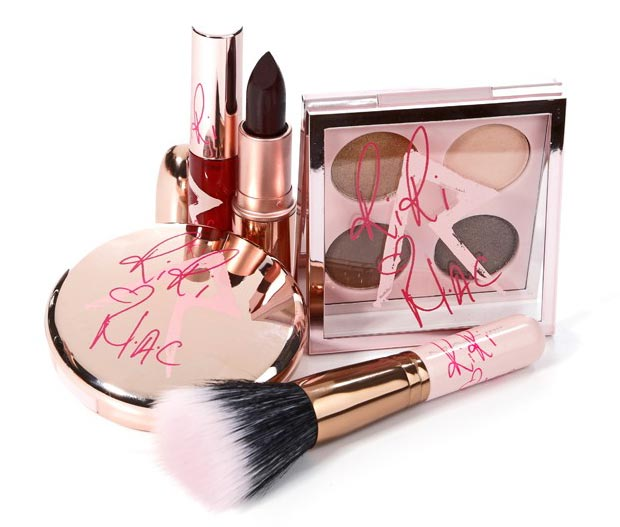 Rihanna MAC Makeup RiRi hearts MAC