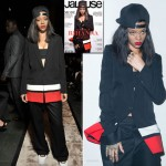 Rihanna posed for Jalouse cover at fashion week