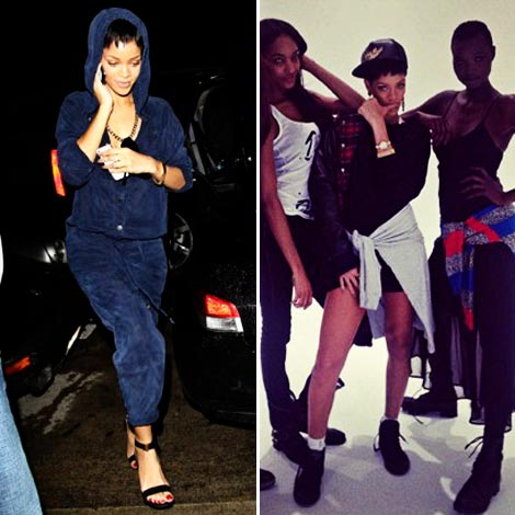 Rihanna River Island collection