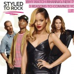 Rihanna Styled to Rock TV Show with Pharrell