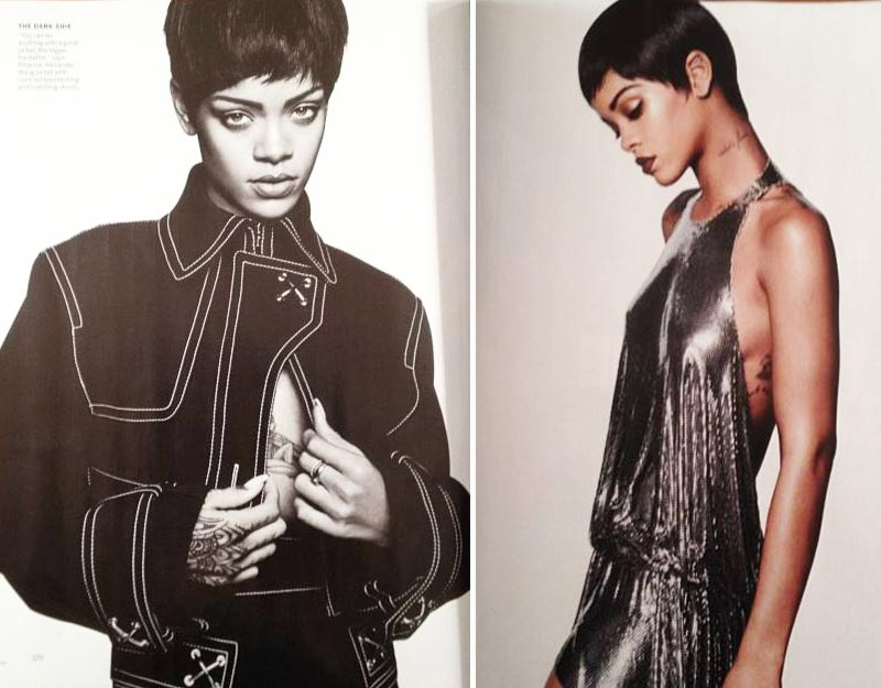 Rihanna Vogue US March 2014 photos
