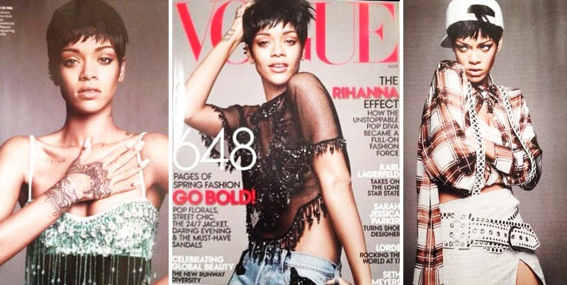 Rihanna Vogue US March 2014