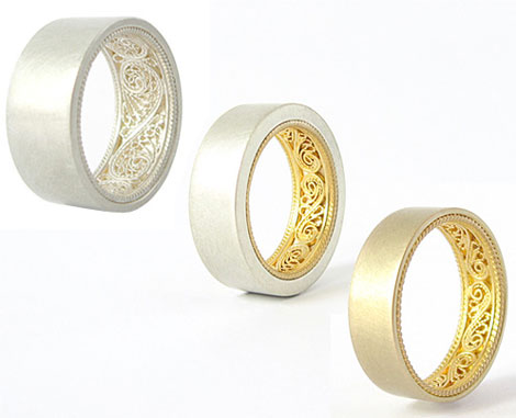 Could You Wear Susanne Matsche's Inside-Out Rings?