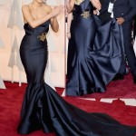 Rita Ora Marchesa dress 2015 Oscars