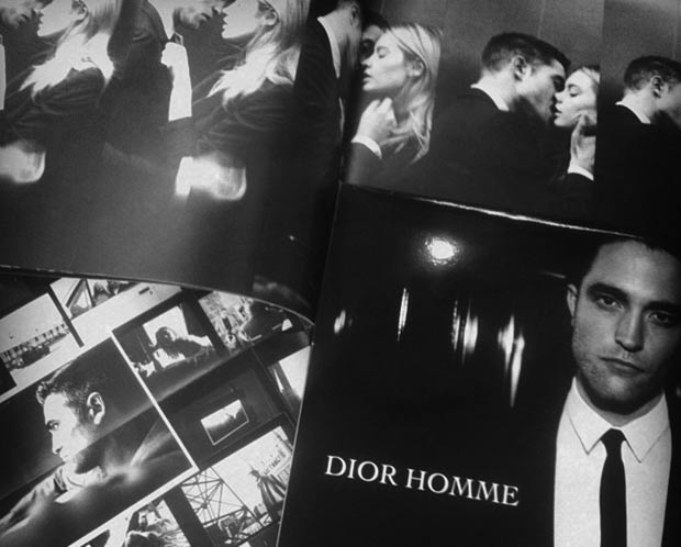 Robert Pattinson Dior Homme perfume ad campaign