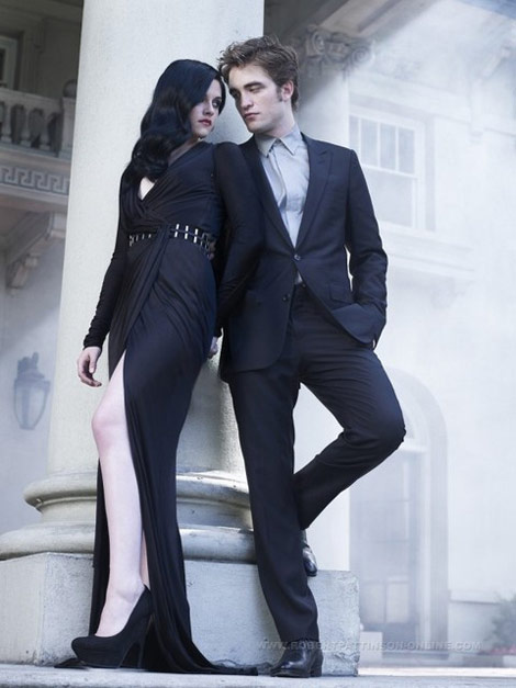 Robert Pattinson Kristen Stewart Harper s Bazaar december 2009