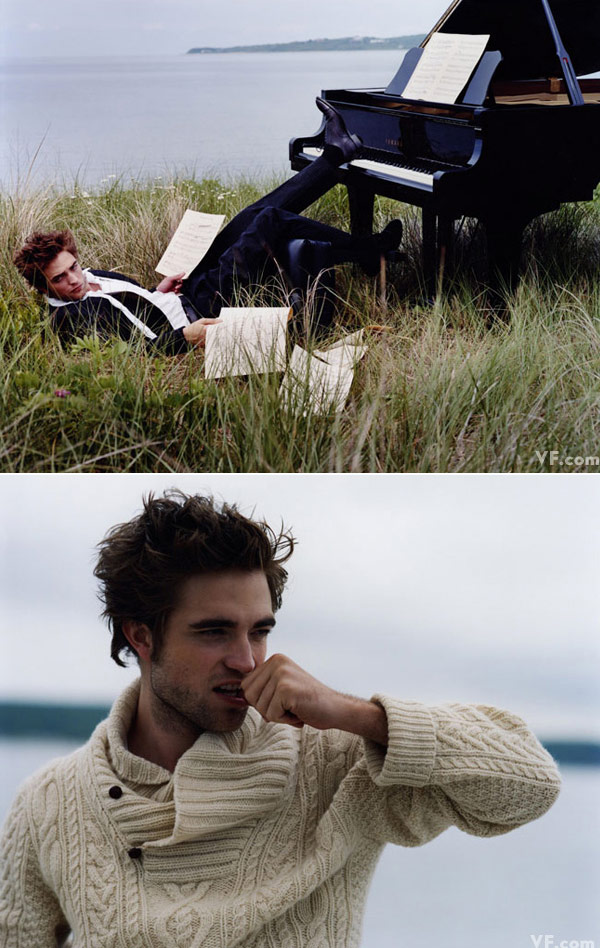 Robert Pattinson Vanity Fair december 2009 4