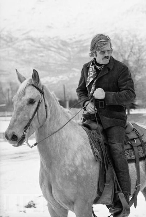 Robert Redford Riding Horse