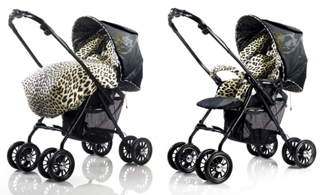 Roberto Cavalli And Aprica Baby Safari Collection Strollers