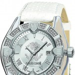 Roberto Cavalli watch diamond white