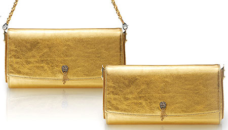 Would You Wear The Roberto Coin Gold Clutch?