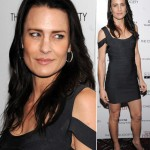 Robin Wright Penn brunette new hairdo