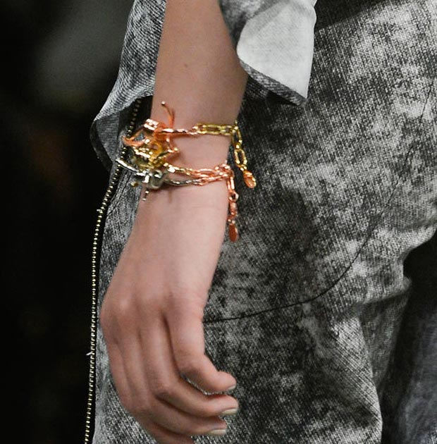 Rodarte Fall 2013 barb wire bracelets