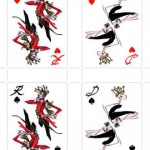 Roger Vivier playing cards