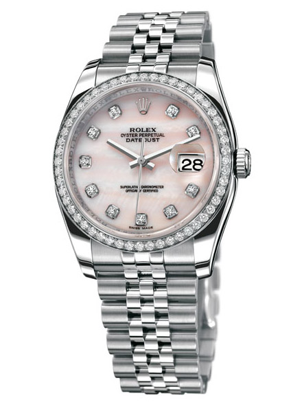 Rolex Datejust 2009 watches collection pearl
