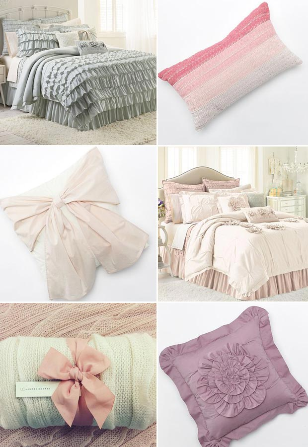 romantic bedroom Lauren Conrad collection