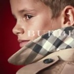 Romeo Beckham Burberry 2013 ad campaign