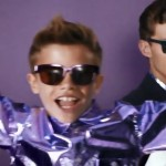Romeo Beckham pops in everywhere in Burberry campaign