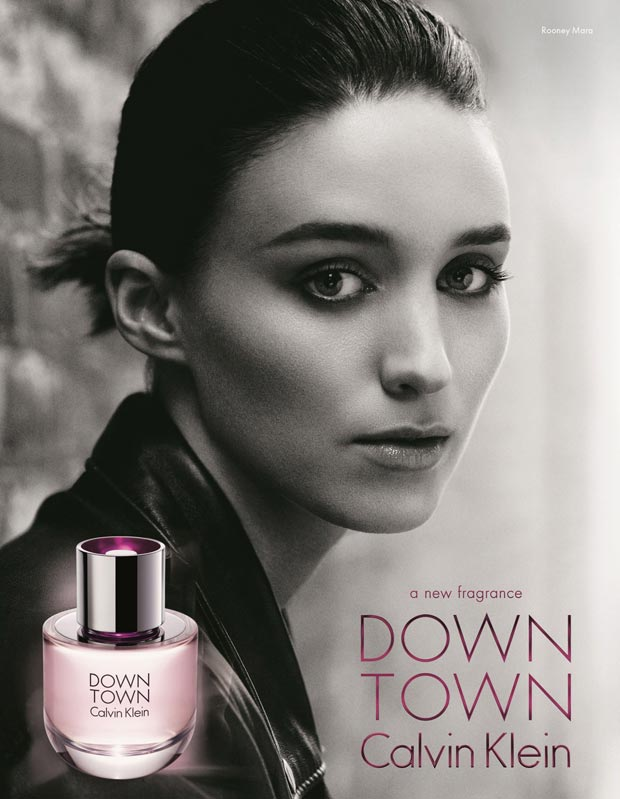 rooney mara calvin klein new perfume ad campaign Rooney Mara Goes Downtown For Calvin Klein Perfume Ad