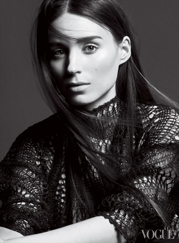 Rooney Mara's Cold Vogue US February 2013