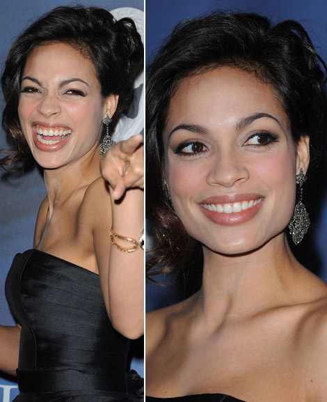 Rosario Dawson Wears LBD And Wins NAACP Award
