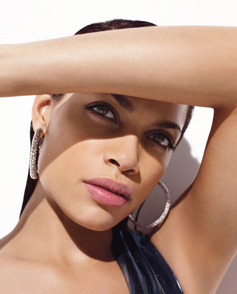 Rosario Dawson Times Style Magazine Fashion Spring 2009