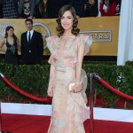 Rose Byrne printed Valentino dress 2013 SAG Awards