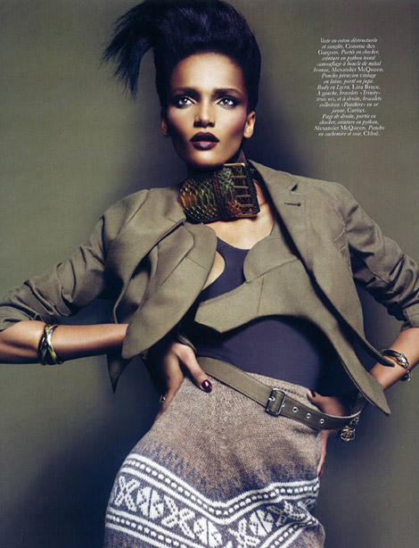 Rose Cordero Vogue Paris March 2010 photo