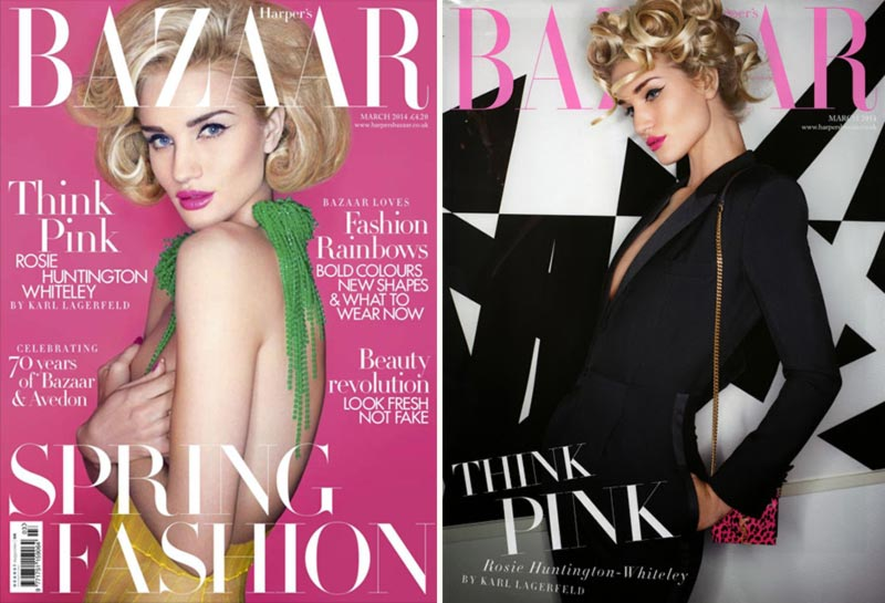 Rihanna, Miley, Emma, Christy & More Covering March 2014 Fashion Magazines