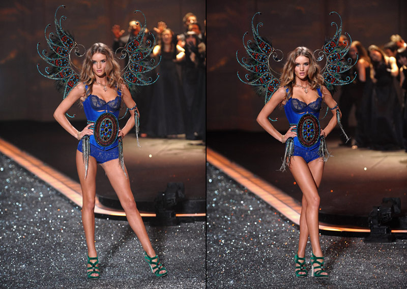 Rosie Huntington Whiteley's Victoria's Secret 2009 Fashion Show