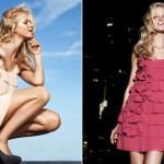 Ruffled mini dresses H and M