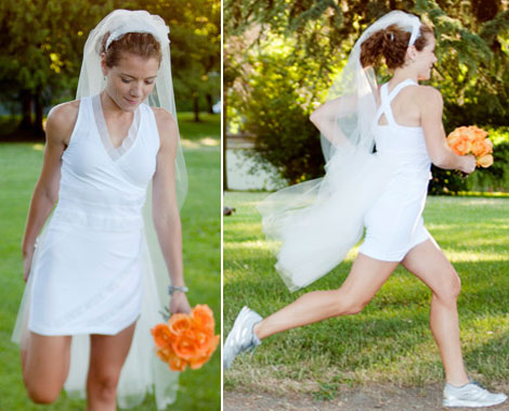 Short Wedding Dresses With Sneakers