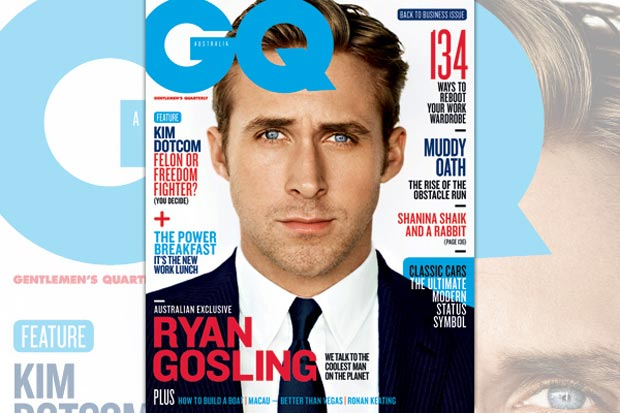 Gangster Squad's Ryan Gosling Suits Up In GQ Australia!