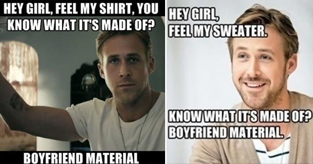 Stylish Fun: Ryan Gosling Hey Girl 11 Fashion Memes