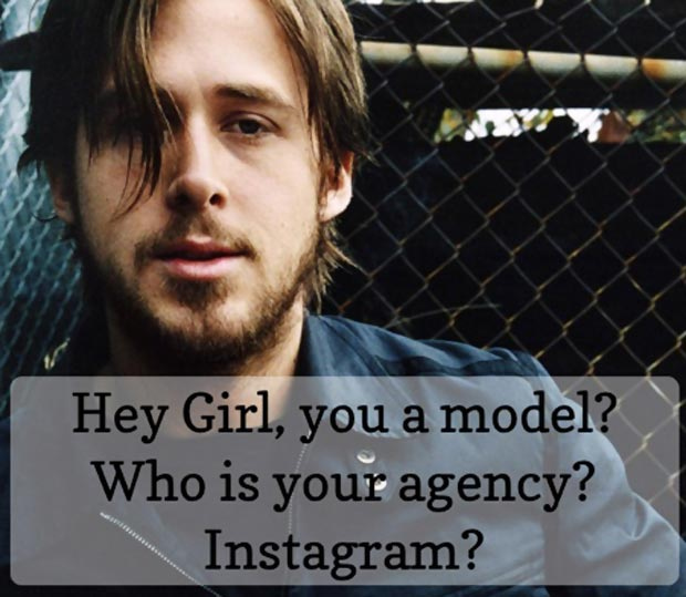 Ryan Gosling Hey Girl model