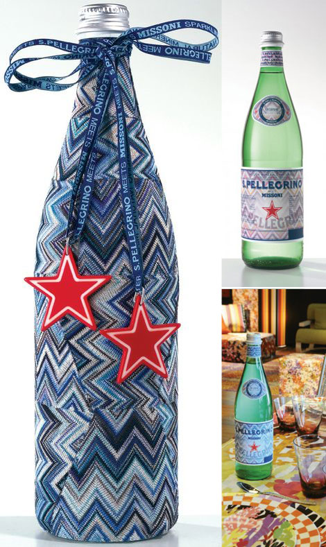 S. Pellegrino By Missoni Limited Edition Bottles