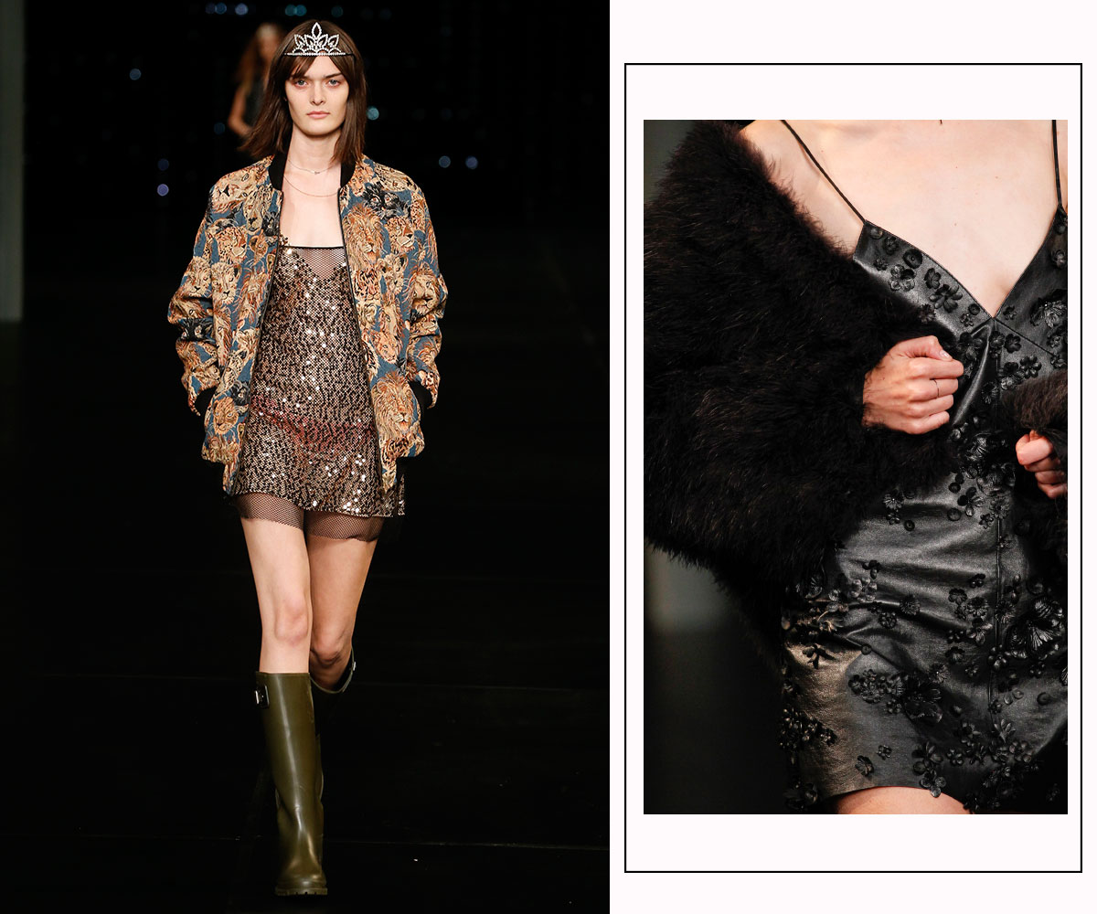 Spring Summer 2016 Festival Chic With Saint Laurent