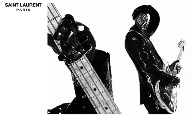 Saint Laurent Paris Daft Punk campaign