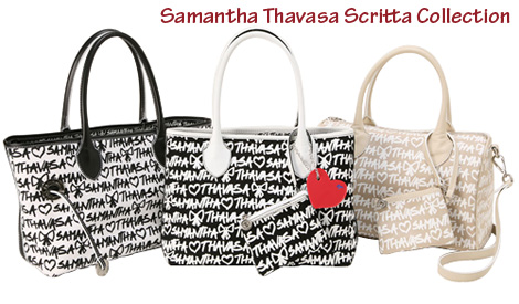 Samantha Thavasa Scritta Collection
