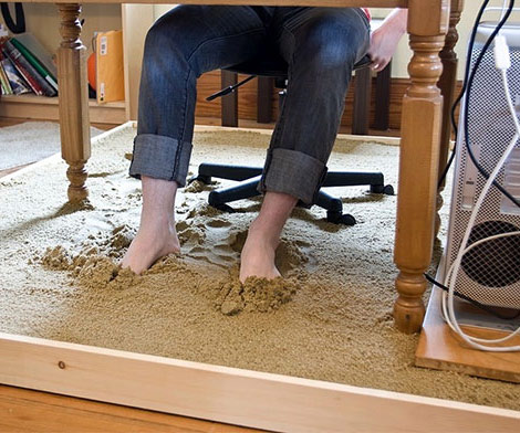 Sandbox home desk