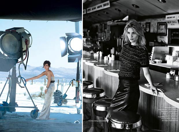 Sandra Bullock Claire Danes pictorials in Vogue