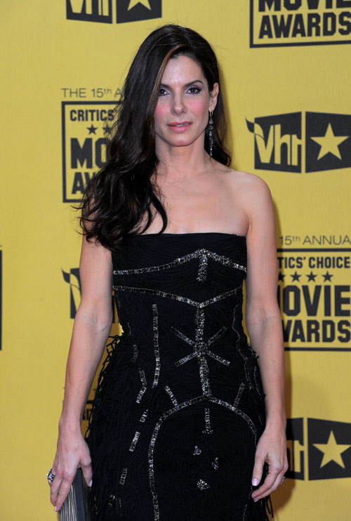 Sandra Bullock Critics Choice Awards 2010 2