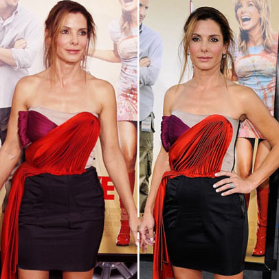 Sanda Bullock's Lanvin Disaster For All About Steve Premiere