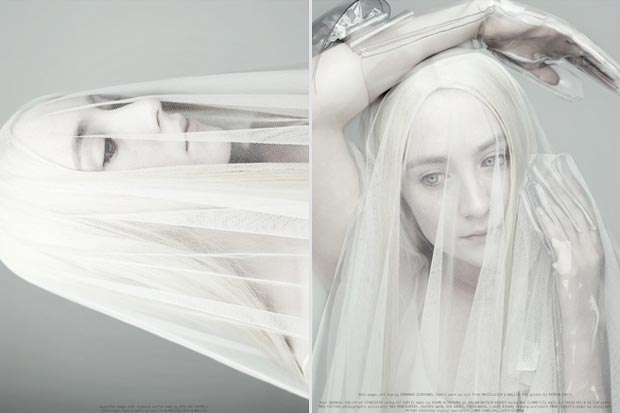 Saoirse Ronan by Rankin Dazed and Confused April 2013