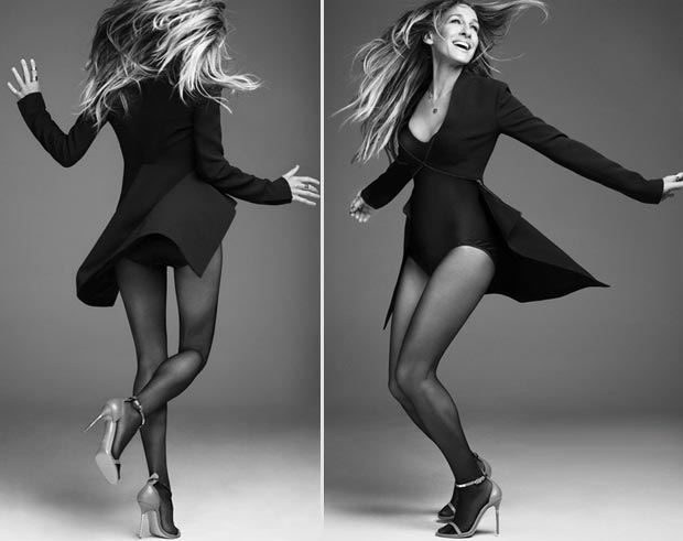 Sarah Jessica Parker black and white pictures